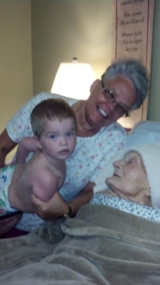 Granny, Kash & Linda