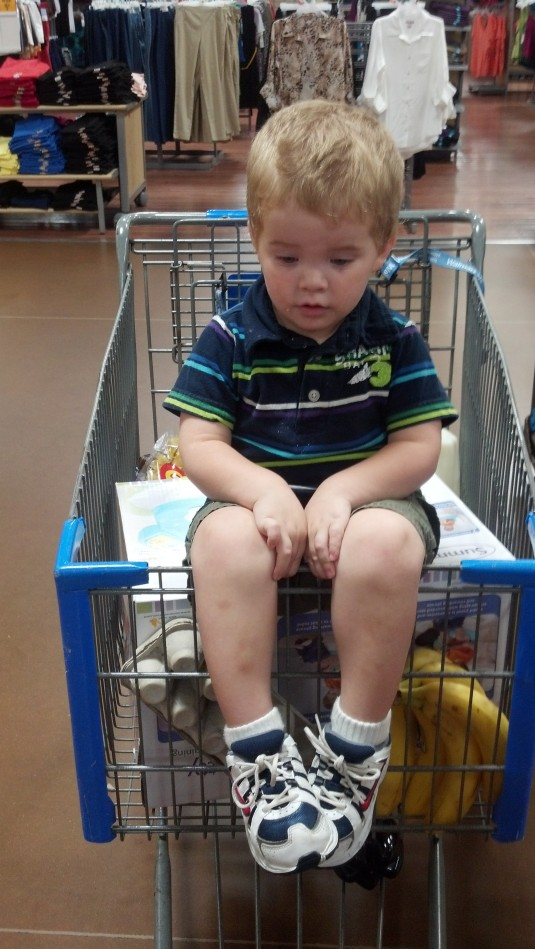 Kash w new potty chair