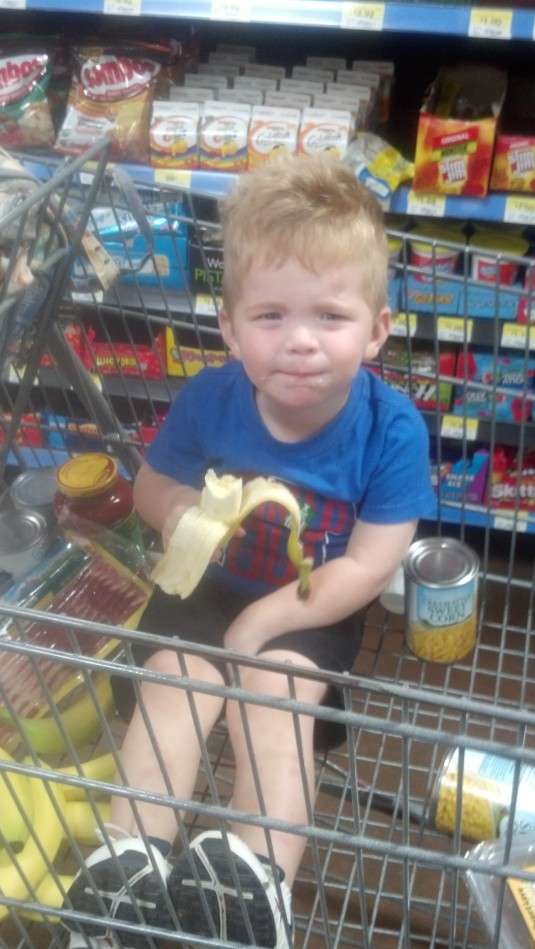 Shopping at Walmart with Maw Maw