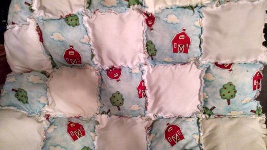 Barn Toss Pillow Quilt