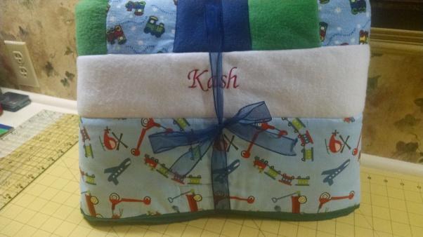 Kash's quilt BD gift