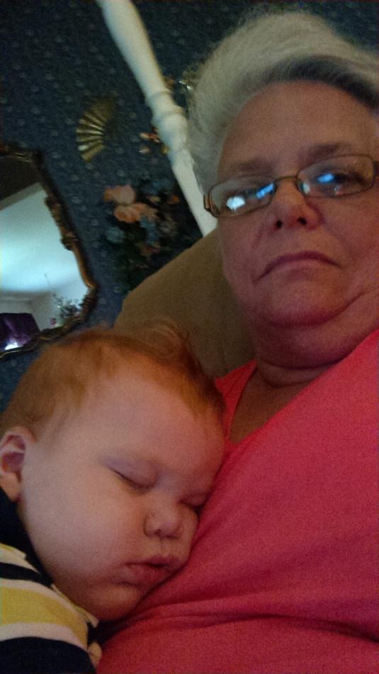 A sleeping Jackson