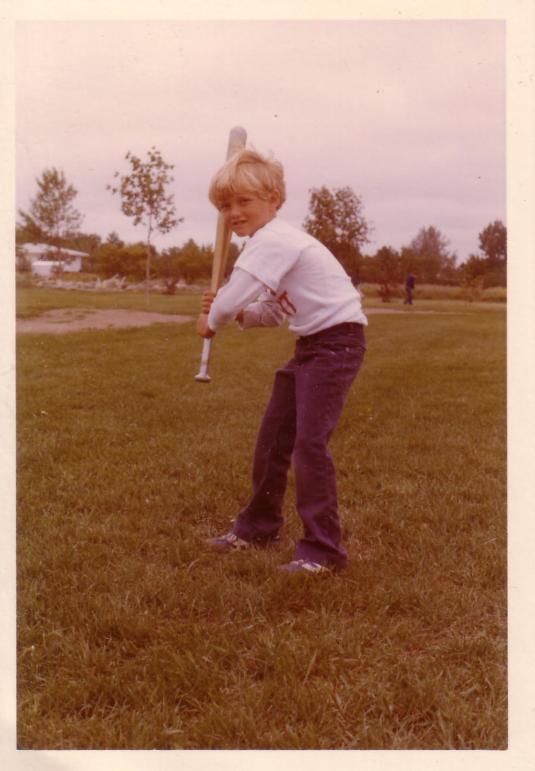 Little ball player