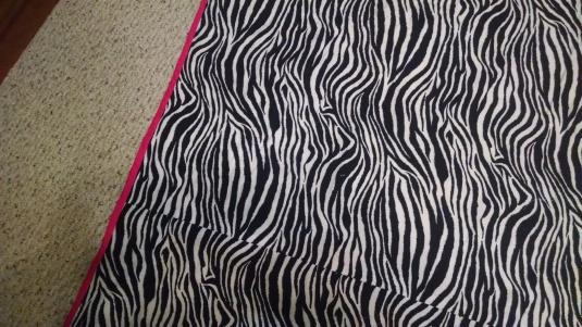 Hannah's quilt back