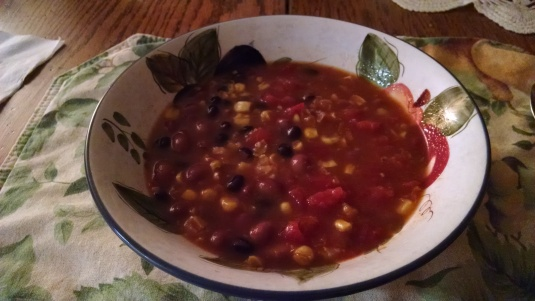5 ingredeient soup